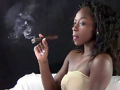 Tops, Top, Ebony voyeur, Cigar, Voyeur