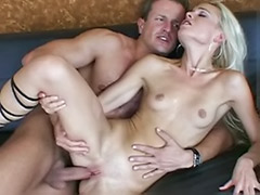 Tit liking hard, Small tits heels, Heels and cum, Anal blond hard