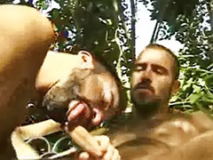 Outdoor rimming, Anal deepthroat outdoor, Parker, Marks, Outdoor deepthroat