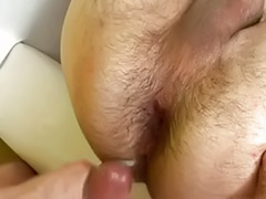 Owned, Own cum, Own ass, Own, Hunk bareback, Gay own cum