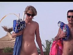 Nudists beach, Nudist, Frenche, Voyeur public, Voyeur beach, Walk