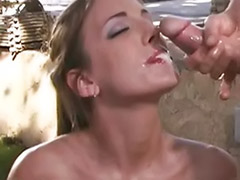 Two facial, Picnic anal, Outdoor double anal, Outdoor double, Outdoor anal threesome, Double vaginal with cum