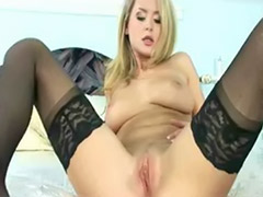 Zoes, Zoe z, Toys in lingerie, Solo masturbation in stockings, ئzoe