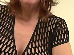 Mature, Big tits, Granny