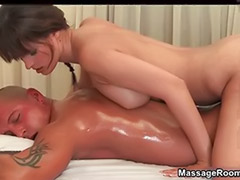 Gorgeous brunette, Nature masturbating, Natural masturbating, Massage handjobs, Massage handjob, Handjobs with cum