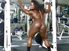 Muscled girls, Muscle girl, Muscle black, Solo muscle girl, Solo gym, Solo girl muscle