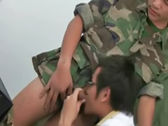 Uniforme gay, Uniform gay, Suck first time, In time, First time suck, First time oral sex