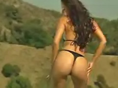 Mix, Public strip, Strip public, Solo bikini strip, Mixed girls, Mixed asian