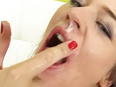Swallow stockings, Swallow cock threesome, Stockings swallows cum, Stockings swallow cum, Stockings swallow, Stocking swallow