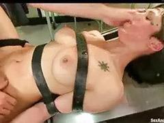 Table fuck, Strap -on, Fucking table, Gyno fucked, Gyno fuck, Gyno x