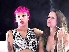 Voyeur lesbians, T j hart, Smoking lesbians, Smoking lesbian, Smoking kissing, Smoking amateur