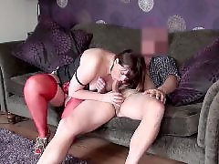 Redding, Red stockings, Red stocking, Red milf, Stocks blowjob, Stockings blowjobs